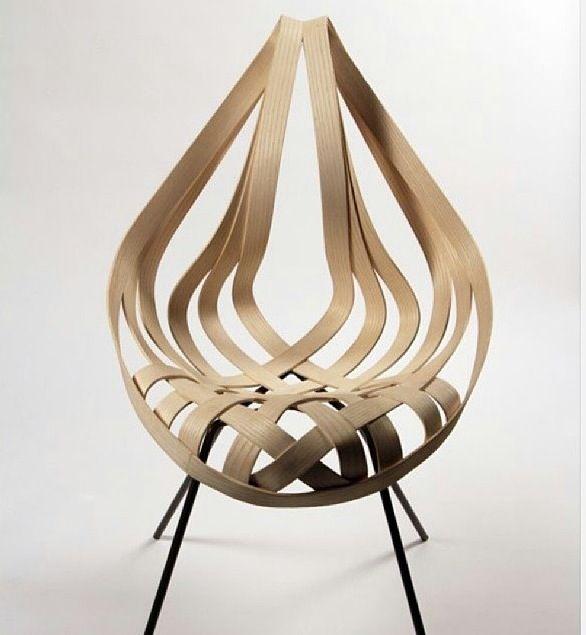 plywood woodwork decorative chair unique