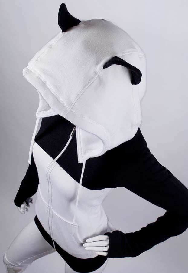 Anime panda hoodie~ ♥♥♥