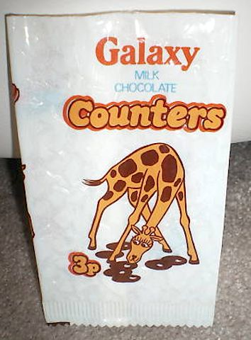 Galaxy Counters, my nan used to buy them for me every day and pass them down the bus to me on my way to school!!