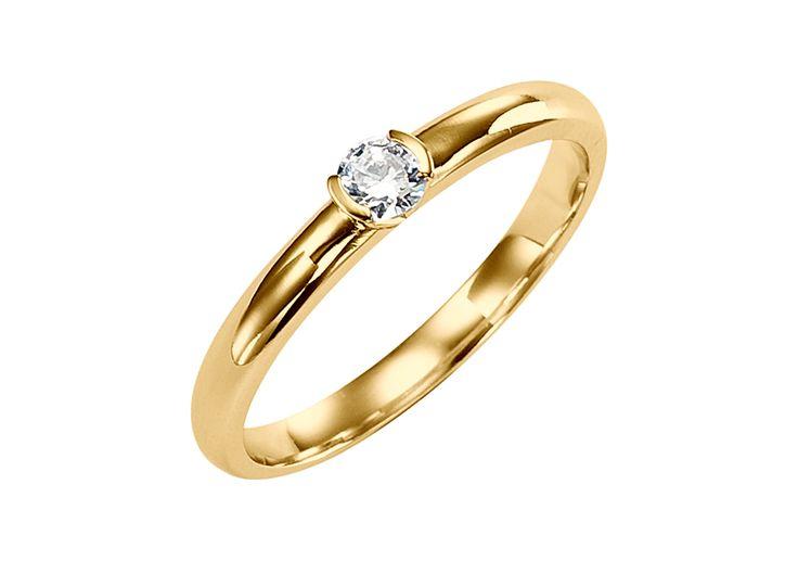 Solitaire discret et épuré, son diamant est délicatement enchâssé dans la monture via un serti cornières en V. <br /><br />Son brillant, sélectionné par nos gemmologues pour sa taille parfaite (noté 3 fois excellent) et sa couleur (Blanc extra) rayonne et scintille superbement. <br /><br />Fabriqué artisanalement dans les ateliers d'OR DU MONDE, le solitaire Justine est un modèle classique et intemporel. <br /><br /> ---&l...