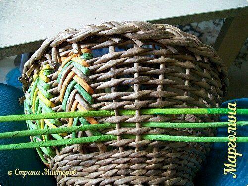Плетение из газет. Екатеринбург Ve-Руся подарки | ВКонтакте