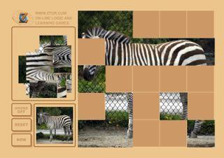 Actividades para Educación Infantil: Puzzles de animales ZTOR