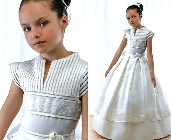 vestidos de primera comunion faciles