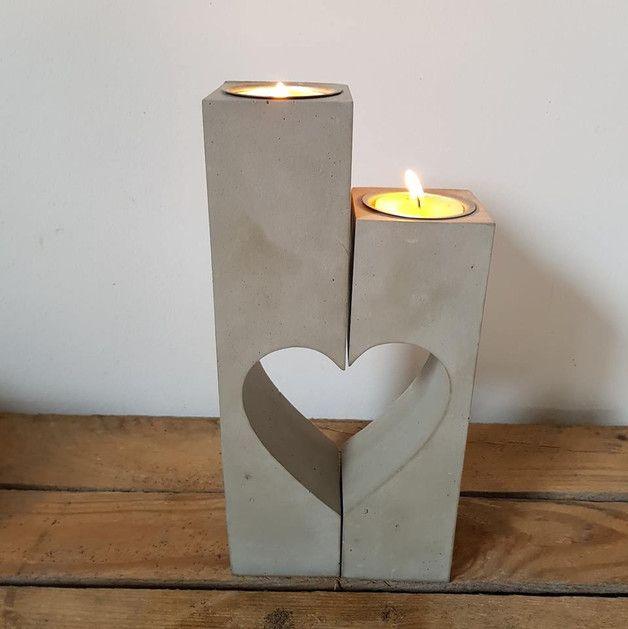 Kerzenleuchter  für 3 Kerzen♥Kerzenhalter♥48 cm lang♥Tischdeko
