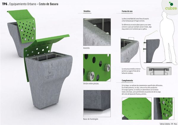 Equipamiento Urbano on Behance