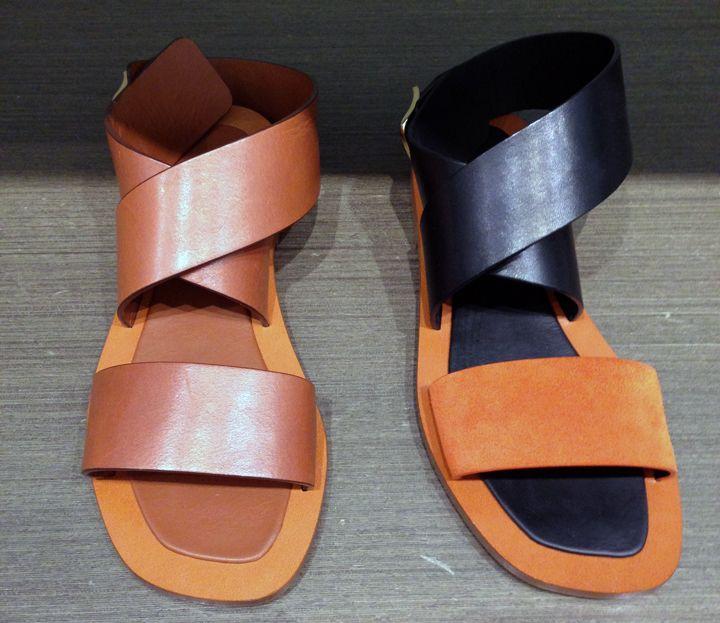 @blamefashion Céline sandals