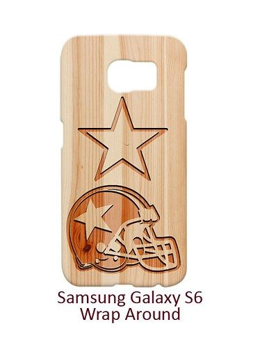Dallas Cowboys Style Wood 2 Case for Samsung Galaxy S6