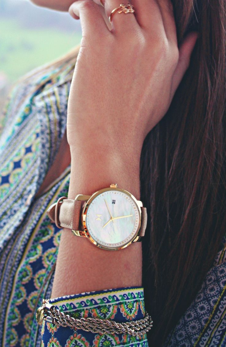 online outlet shopping clothes The Rose Gold Pearl Leather watch combines a beautiful face with a stylist leather band  bringing together the whole package  You could have this beauty in just a few days with free worldwide shipping at mvmtwatches com