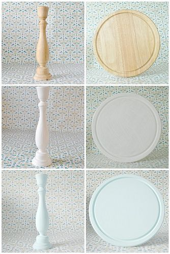 Make Your Very Own Cake Stand