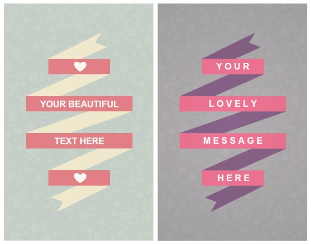 Free Fill in Your Own Words Cards