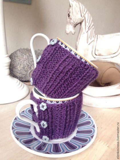 грелка, грелка на чашку, чашка с блюдцем, чайная пара, грелочка, теплушка, теплый, уютный, термос, грелка для чашки, пара чашек, сервиз, посуда, посудная лавка,