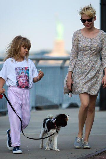 Michelle Williams & Matilda Rose Ledger