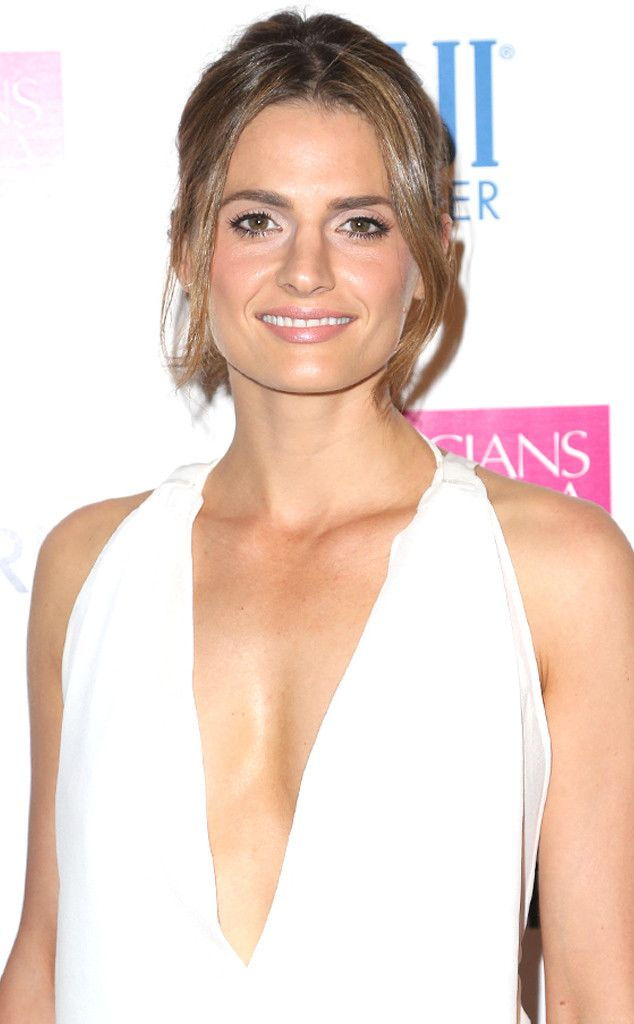 Castle Actress Stana Katic Marries Kris Brkljac?Inside Their Private Wedding! | E! Online Mobile
