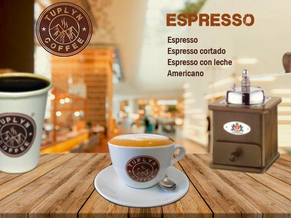 #espresso #café 100% natural. www.tuplyncoffee.com