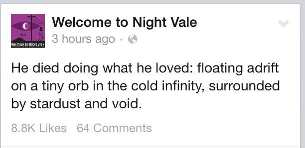 Welcome to Night Vale: Quotes