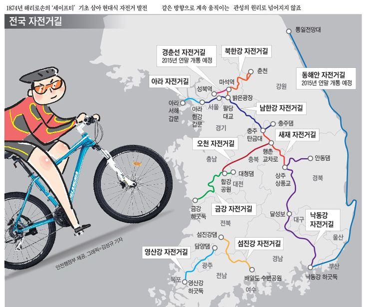 건강·환경·에너지… 자전거 두 바퀴로 지켜낼 수 있대요