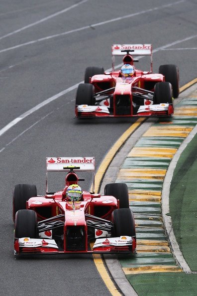 Ferrari at the 2013 Australian Formula One Grand Prix