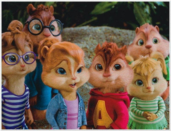 ALVIN E OS ESQUILOS (IMAGENS) ALVIN AND THE CHIPMUNKS (IMAGES)
