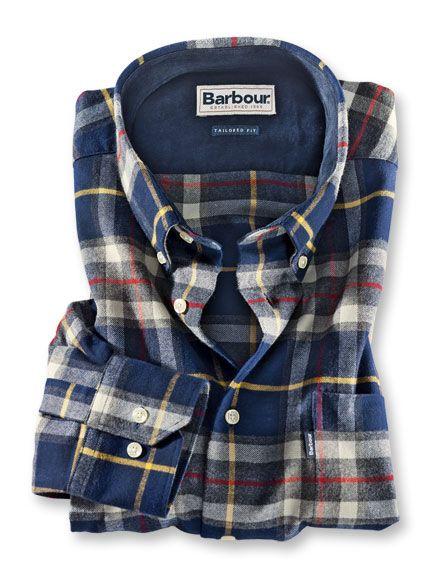 Extrawarmes Flanellhemd von Barbour