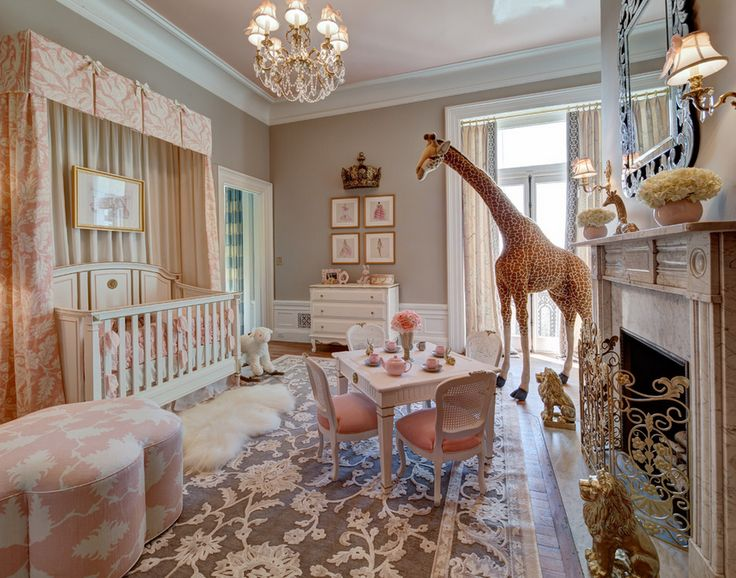 Luxury Nursery for a little princess...