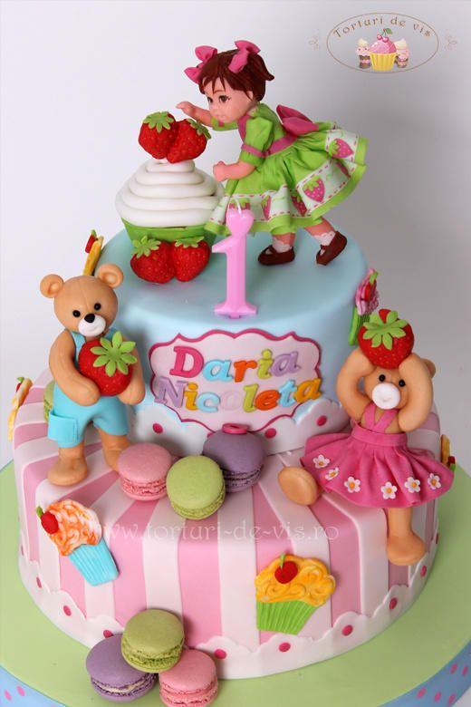 First anniversary - Cake by Viorica Dinu