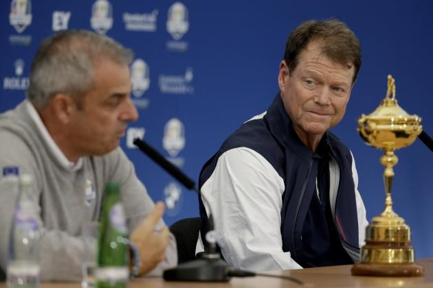 Ryder Cup 2014: Projected Pairings for Both Teams