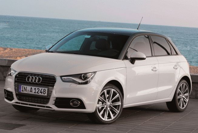 Audi A1 sportback - right now, this is my little dream car. It's sassy, oozes chic and is just so cute!