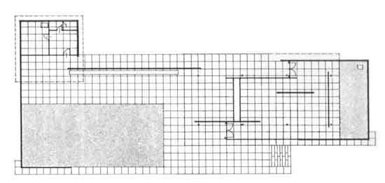 Mies Van der Rohe, Padiglione tedesco all'Esposizione di Barcellona