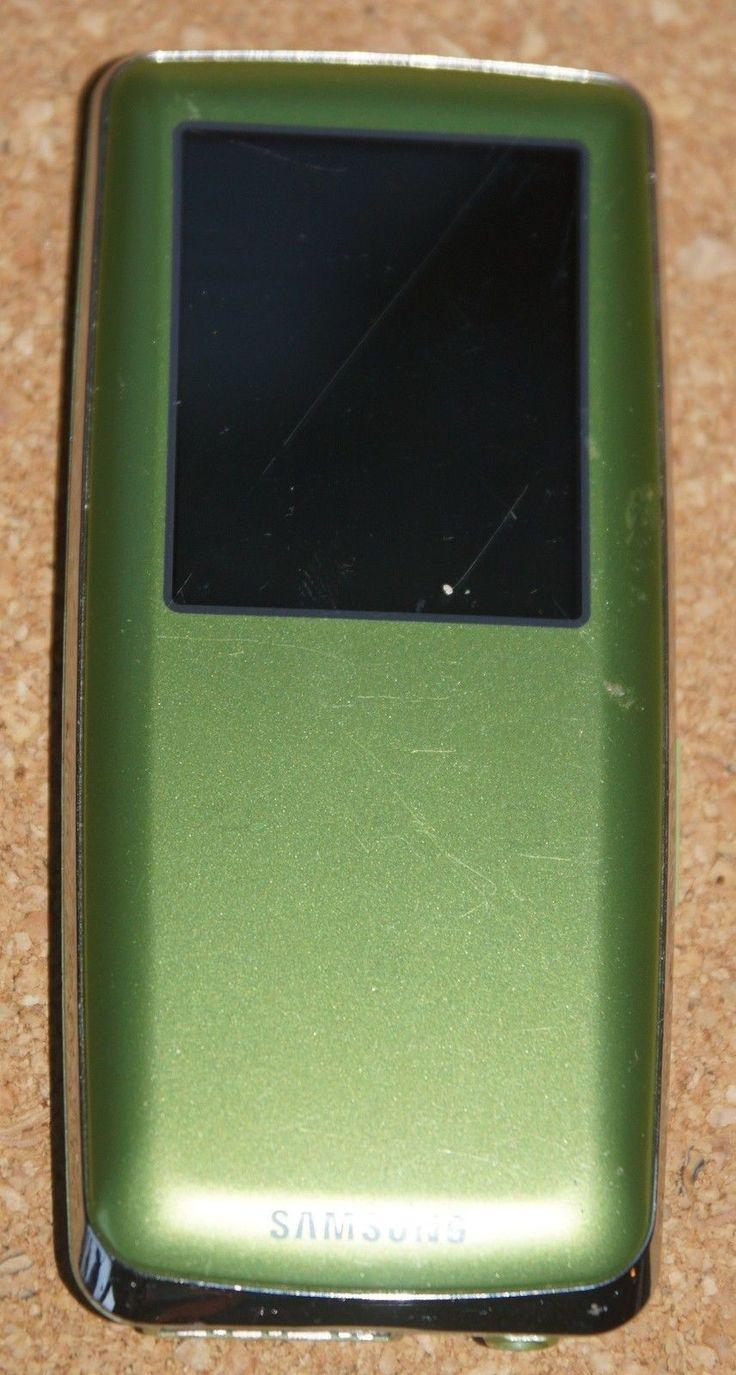 Samsung YP-S3 MP3 Player grün; EEK Asparen25.com , sparen25.de , sparen25.info