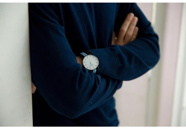 The NOWA watch dresses you up in elegance for any occasion thanks to its minimalist and clean design. smartwatch, mensfashion, wristwatch