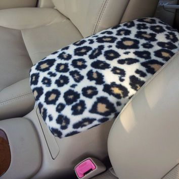 Center Console Cover CHEETAH Print for Lexus ES330 2004 2005 2006 CC2 Lid Cover $22