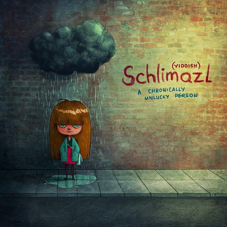 Untranslatable words, schlimazl, bahtsız
