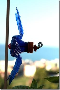 plastic bottle windmill
