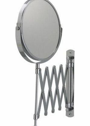 Ikea FRACK Extendable Telescopic Wall Mounted Bathroom Shaving Mirror Wall Mounted Extendable bathroom shaving mirror. One side has magnifying mirror glass 2.5 times (Barcode EAN = 0380062001215). http://www.comparestoreprices.co.uk/bathroom-mirrors/ikea-frack-extendable-telescopic-wall-mounted-bathroom-shaving-mirror.asp