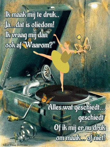 www.facebook.com/plaatjesvanhennydelhaas   --   via GIPHY Gedicht van Toon Hermans uit de gedichtenbundel  DAN HEB JE GELUK