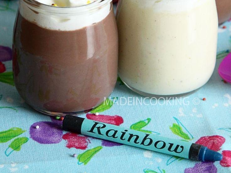 Danette® au chocolat et à la vanille maison