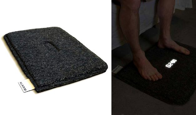 10 alarm clocks that will GET U UP!  I need this foot mat one or the one with wheels that runs away!!! lol