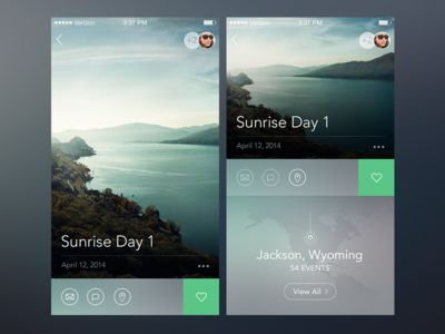 iOS Gallery States by Samuel Thibault for Handsome