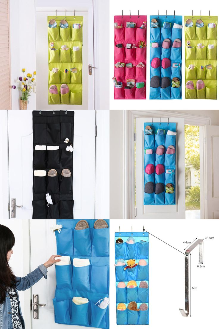 [Visit to Buy] 12 pockets Hanging Storage Diaper Bags Towel tools Pocket Pouch Bag Organizer on walls ZH989 #Advertisement