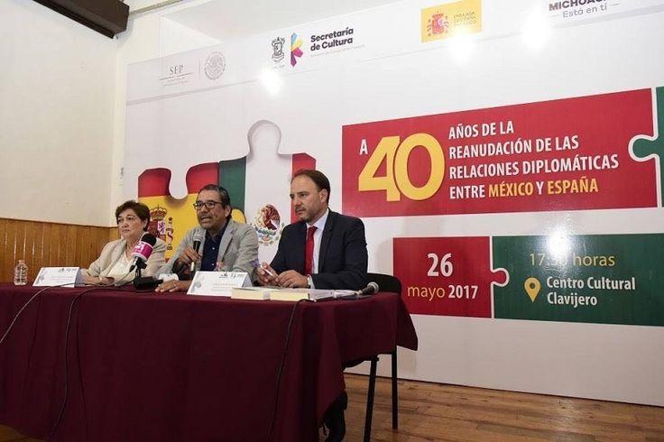 La primera ponencia, a cargo de la titular de la Secum y del consejero de Educación de la Embajada de España en México; en su mejor momento, las relaciones entre ...