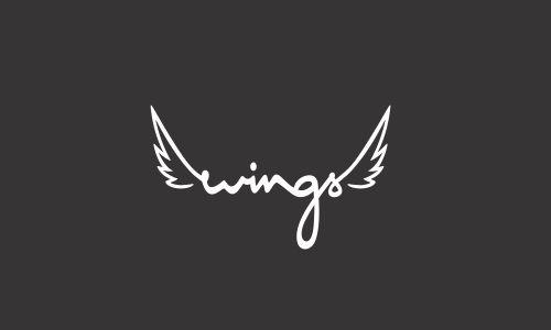 30 Marvelous Wings Logo Designs | DesignEmerald