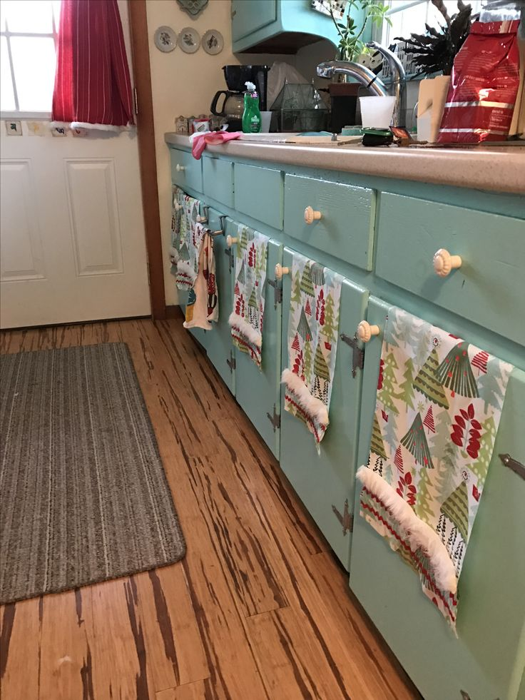 Cabinet curtains