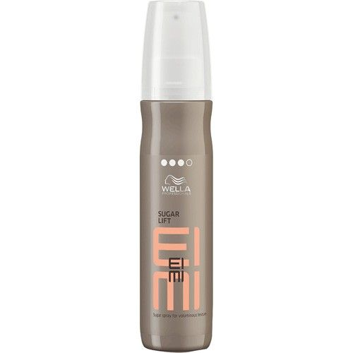 Wella EIMI Sugar Lift gives you a grip on volume: this rich flexible spray infused with sugar provides lift, shine and touchable grippy texture.