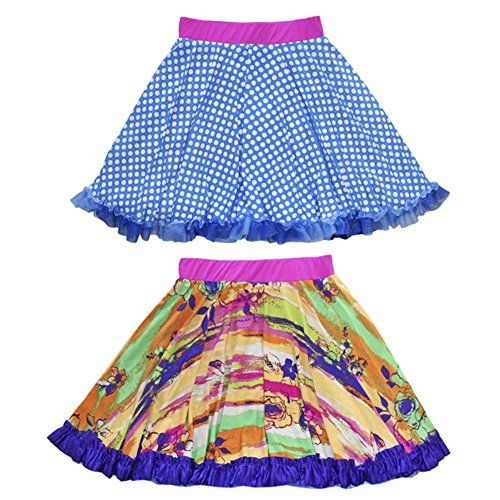Cute colourful pow ruffle skirts. Brings lots of colour taste and style. Wouldn't mind at all wearing one!