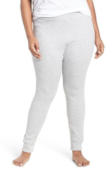 UGG® 'Goldie' Stretch Cotton Leggings (Plus Size) available at #Nordstrom