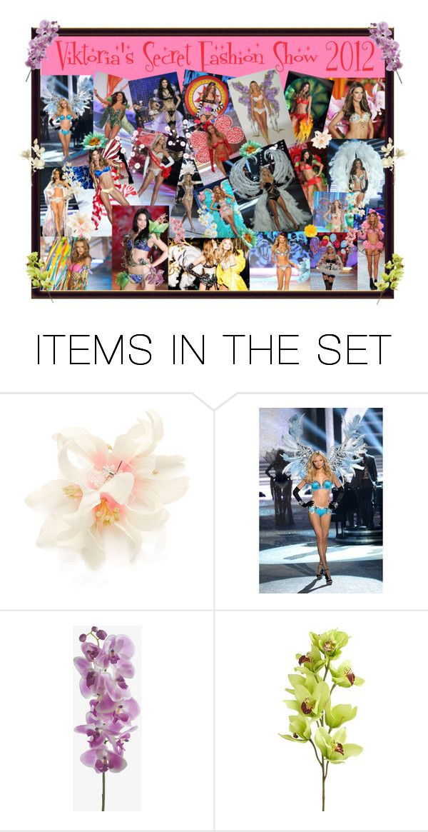 """Viktoria's Secret Fashion Show 2012"" by anna-swag ❤ liked on Polyvore featuring art"