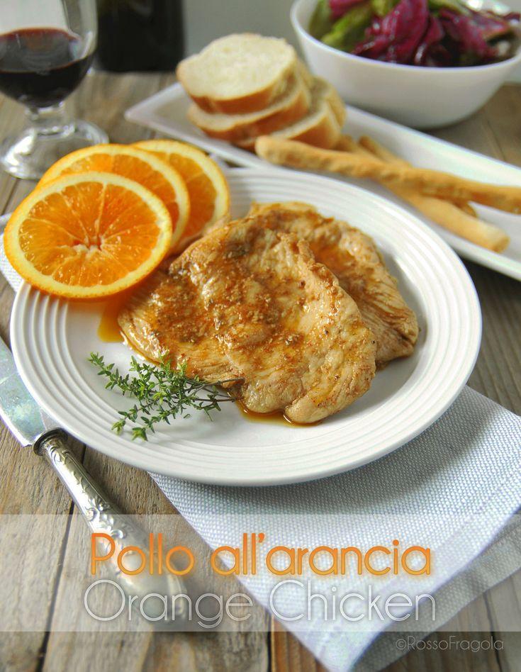 -pollo all'arancia