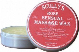 Bulgarian Rose Rose Massage Wax
