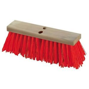 a flo pac heavy polypropylene push broom head 36112424