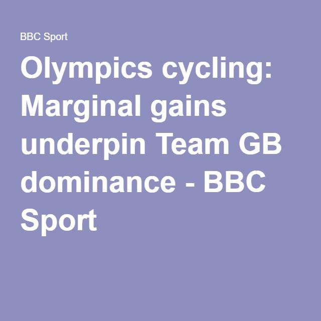 Olympics cycling: Marginal gains underpin Team GB dominance - BBC Sport